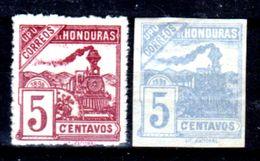 Honduras-0014 - 1898: Valori Della Serie Y&T N. 84/91 (+/sg) Hinged/NG - - Honduras