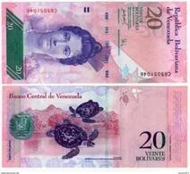 Venezuela - 20 Bolivar 2007 - 13  UNC - Venezuela