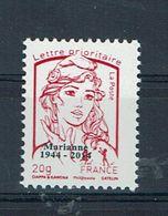FRANCE Marianne Ciappa 20 Grs Rouge Prioritaire N** (n°4067) Surchargé 1944/2014 Inexistant Sur Delcampe/ 1er Ex - 2013-... Marianne De Ciappa-Kawena