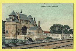 * Brugge - Bruges (West Vlaanderen) * (I P.M. Paris - Edit Matthys Soeurs) Porte D'Ostende, Tram, Train, Unique - Brugge