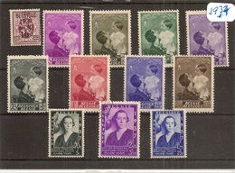 BELG.1937 LOT - Belgium