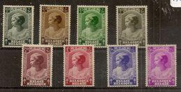 BELG.1937 458-465 - Belgium