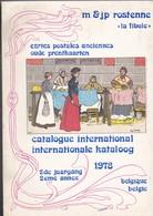 """LIVRE  RARE--BELGIQUE--"""" LA FIBULE """"--catalogue International--M. & J.P. ROSTENNE---voir 2 Scans - Livres"""