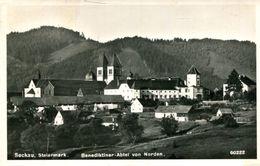 003416 Seckau - Benediktiner-Abtei Von Norden 1955 - Seckau