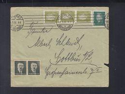 Dt. Reich Brief 1933 Leipzig Hitler Vignette - Deutschland