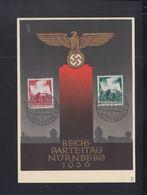 Dt. Reich PK Reichsparteitag Nürnberg 1936 Sonderstempel - Briefe U. Dokumente