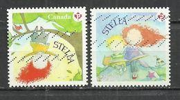 CANADA 2013 - CHILDREN'S LITERATURE - CPL. SET - USED OBLITERE GESTEMPELT USADO - Used Stamps