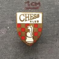 Badge (Pin) ZN006668 - Chess (sah) Club - Badges