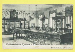 * Wavre Notre Dame - Sint Katelijne Waver (Antwerpen) * (Cortenbergh, Nr 44) Etablissement Ursulines, Salle Collections - Sint-Katelijne-Waver