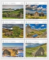 Isle Of Man 2018 Set CTO - Manx Tholtans By Ray Kelly - (Set CTO) - Man (Ile De)