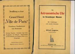 Livres  ( Allemand )  -B3268-  67- Strasbourg - Dies Astronomische Uhr Des Strassburger Münster - Livres, BD, Revues