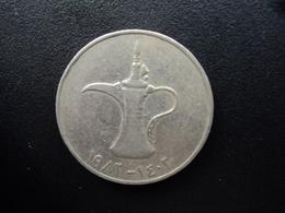ÉMIRATS ARABES UNIS : 1 DIRHAM  1982 - 1402   KM 6.1   TTB - Emirats Arabes Unis