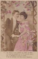 CPA Couple, Déclaration D'amour, Poème, Datée 1905 - Couples