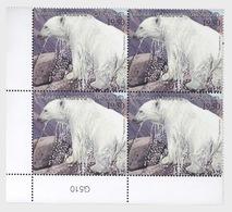 Greenland 2013 Block Of 4 - Vulnerable Animals- Greenland/Israel- (Lower Marginal) - Non Classificati