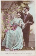 CPA Couple, Femme Enceinte, Déclaration D'amour, éditeur B Et F , B.F. , N° 359 - Couples