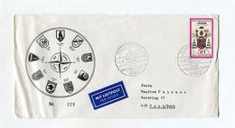 BRD UMSCHLAG 1985 20 JAHRE 3.LUFTWAFFENDIVISION KALKAR NIEDERHEIN - [7] West-Duitsland