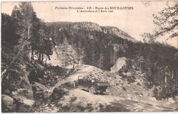 FR66 LES BOUILLOUSES - Mtil 416 - La Route - L'accordéon Et L'auto Car - Animée - Belle - Andere Gemeenten