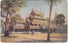 The Queen's Golden Kyoung, Mandalay, Burmah - (Raphael Tuck 'Oilette' Postcard) - Myanmar (Birma)