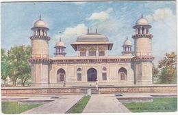 Tomb Of Etamad-Ud-Dowla. Agra - (Raphael Tuck 'Oilette' Postcard) - India