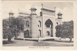 Entrance Of The Taj  Garden Agra -  (India) - India