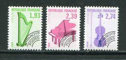 FRANCE- Préoblitérés Y&T N°210 à 212- Neufs Sans Charnière ** - Preobliterati