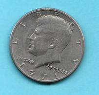 Pièce De Monnaie Half Dollar Kennedy 1971 USA - Federal Issues