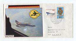 BRD UMSCHLAG 1983 DEUTSCHE LUFTWAFFE KALKAR NIEDERHEIN - [7] West-Duitsland