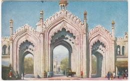Hooseinabad Gateway, Lucknow -  (India) - (Raphael Tuck's  'Oilette' Postcard) - India