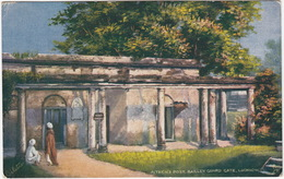 Aitken's Post, Bailley Guard Gate, Lucknow -  (India) - (Raphael Tuck's  'Oilette' Postcard) - India