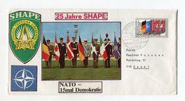 BRD UMSCHLAG 1983 25 JAHRE SHAPE NATO KALKAR NIEDERHEIN - [7] West-Duitsland