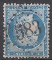 GC   583   BOURMONT  (  50  -  HAUTE   MARNE  ) - Marcophilie (Timbres Détachés)