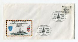 BRD UMSCHLAG 1988 SCHNELLES MINENKAMPFBOOT SM 343 HAMELN BREMEN NAVY - [7] West-Duitsland