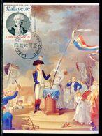 Etats Unis - Carte Maximum 1992 - Lafayette - Maximumkaarten