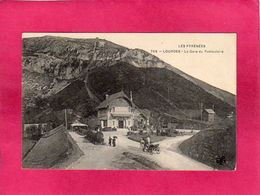 65 Hautes-Pyrenées, Lourdes, La Gare Du Funiculaire, Animée, (M.T.I.L.) - Lourdes