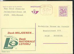 Publibel Obl. N° 2542 + P 010 ( Loterie Nationale ) Obl; - Publibels