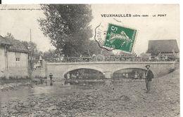 VEUXHAULLES. LE PONT. ATTELAGES - France