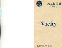 VICHY(AGENDA 1928) - Books, Magazines, Comics