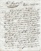 1818 - NARBONNE - Canal Du Midi Plus Navigable, Recherche De Locaux Pour Stockage, Flotille Rendues à Port-Vendres Etc - Historische Documenten