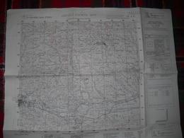 ASCOLI PICENO EST - MAPPA - CARTA GEOGRAFICA MILITARE DEL 1955 - Carte Topografiche