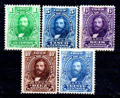 Honduras-0016 - 1903: Valori Della Serie Y&T N. 92/99 (sg) NG: No Glue - - Honduras