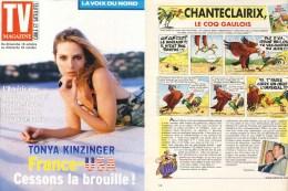 ASTERIX : 10 Magazines TV MAG LA VOIX DU NORD  2003 , Chanteclairix - Libros, Revistas, Cómics