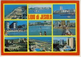 JESOLO LIDO JEXOLO  PANORAMI VIAGGIATA - Italia