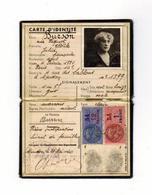 CARTE D'IDENTITE NATIONALE Du 21 MAI 1940 - Documents Historiques