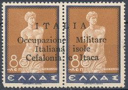 GREECE IONIAN ISLANDS WWII 1941 ITALIAN OCCUPATION CEFALONIA ITHACA - Neufs