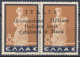 GREECE IONIAN ISLANDS WWII 1941 ITALIAN OCCUPATION CEFALONIA ITHACA - Greece