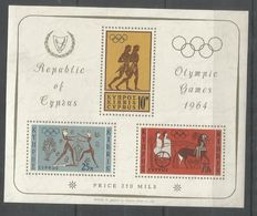 CYPRUS - MNH - Sport - Olympic Games - 1964 - Other