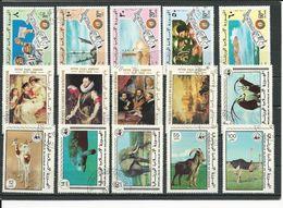MAURITANIE 3 Séries Complètes, Voir Détail (15) O Cote 10,50 $ 1975-78 - Mauritanie (1960-...)