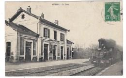 """10  AUXON    """" La Gare """" - Autres Communes"""