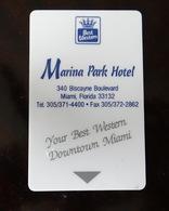 Carte Clé Hôtel Marina Park Miami - Other