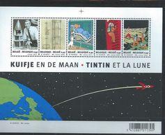 """BELGIQUE : Y&T** BF N° 99 """" Tintin Et La Lune """" - Libretti 1962-...."""